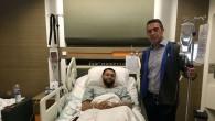 Ali Koç ve Semih Özsoy'dan Tyler Ennis'e ziyaret