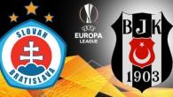 Slovan Bratislava – Beşiktaş maçı saat kaçta, hangi kanalda?