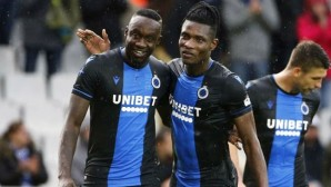 Mbaye Diagne, Club Brugge'da görev aldığı 50 dakikaya 3 gol sığdırdı