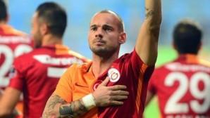 Galatasaray'da sürpriz Wesley Sneijder gelişmesi