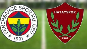 Fenerbahçe-Hatayspor (CANLI)